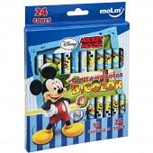 Caneta Hidrocor Bicolor Mickey